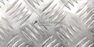 Лист алюминиевый рифленый